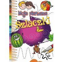 Książki dla dzieci, Moje pierwsze szlaczki - praca zbiorowa (opr. broszurowa)