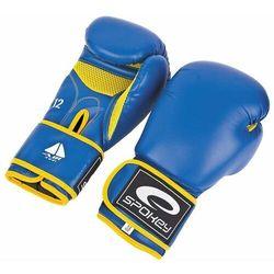 Rękawice bokserskie Spokey Hayen niebieskie
