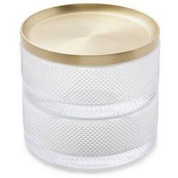 Umbra - pudełko na biżuterię tesora - mosiądz