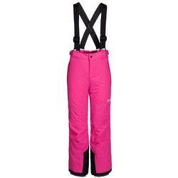 Dziecięce spodnie narciarskie POWDER MOUNTAIN PANTS KIDS pink fuchsia - 140