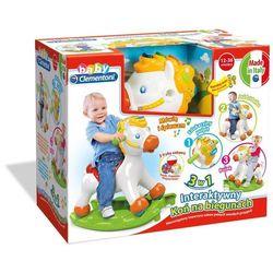 CLEMENTONI 60812 Baby Interaktywny koń na biegunach 12-36m