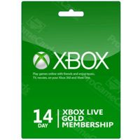 Klucze i karty przedpłacone, Xbox 14 Days Gold Membership