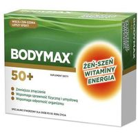 Witaminy i minerały, Bodymax Senior 50+ tabl. 30 tabl.