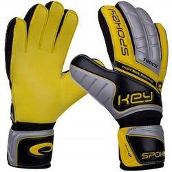 Rękawice bramkarskie SPOKEY Touch (rozmiar 7) Żółty