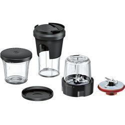 Bosch muz9tm1 Lifestyle zestaw Tasty Moments, zestaw 5-in-1 Multi-elektryczna szatkownica do warzyw (, szlifować, siekania, przechowywania, Togo rozwiązanie własnej) do robota Optimum