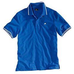 Shirt polo Regular Fit bonprix lazurowy niebieski