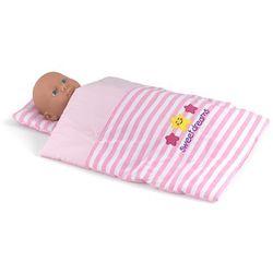 Kołderka i poduszka dla lalki