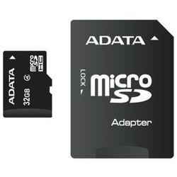 Karta pamięci microSDHC Adata 16GB class4 + ADAPTER - AUSDH16GCL4-RA1