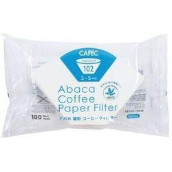 Cafec - Filtry Abaca białe 02 Trapezoid - 100 szt.