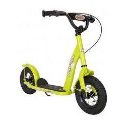 """Hulajnoga dla dzieci, pompowane koła 10"""" BikeStar, kolor zielony"""