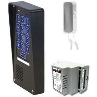 Domofony i wideodomofony, Zestaw domofonowy jednorodzinny z szyfratorem RADBIT Z-NOV-BZ-1P GD36 SAT
