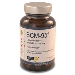 BCM-95 ekstrakt z kurkumy (Biocurcumin) (60 kaps.) Arjuna Natural Extracts