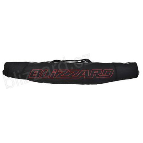 Pozostałe narciarstwo, Blizzard Ski Bag Premium black/silver 160-190 cm TORBA POKROWIEC NA DWIE PARY NART 140323