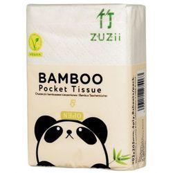 Bambusowe chusteczki higieniczne kieszonkowe 8 szt. - ZUZii