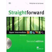 Książki do nauki języka, Straightforward Intermediate 2nd Edition Ćwiczenia Bez Odpowiedzi + CD (opr. broszurowa)