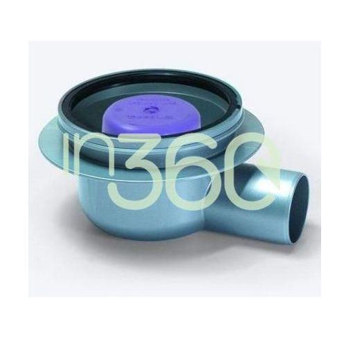 Kessel korpus wpustu łazienkowego classic z abs, dn 50, z syfonem, odpływ boczny 40150