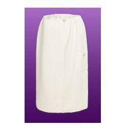 Sauna Kilt Ręcznik 100% Bawełna Uniwersalny Ecru 70/140cm Guzik