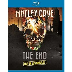 THE END - LIVE IN LOS ANGELES - Motley Crue (Płyta BluRay)