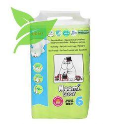 MUUMI Baby Pieluchy 6 Junior 36szt pieluszki hipoalergiczne i ekologiczne (12-24kg)