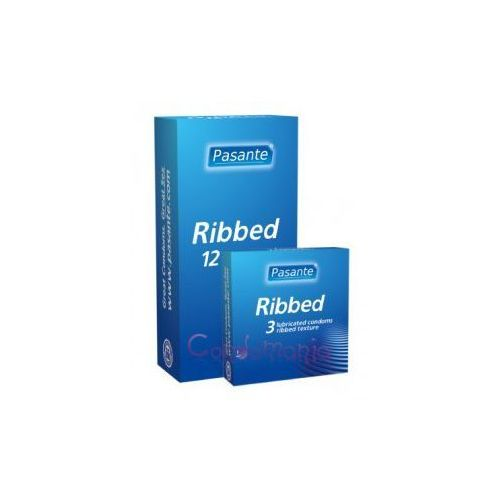 Prezerwatywy, Prążkowane Pasante Ribbed (1op./3szt.)