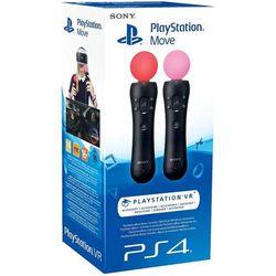 SONY kontrolery ruchu PlayStation 4 Move Twin pack - BEZPŁATNY ODBIÓR: WROCŁAW!