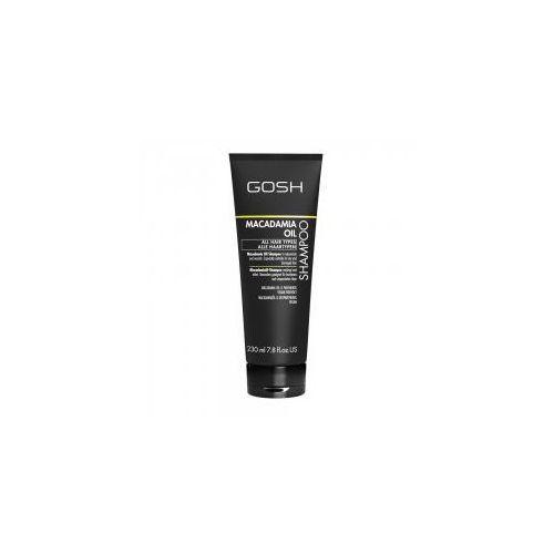 Mycie włosów, GOSH Macadamia Oil, szampon do włosów, 230ml
