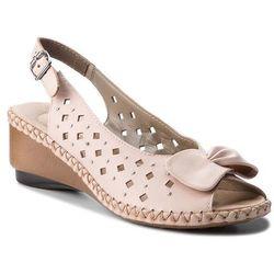 Sandały RIEKER - 66175-31 Rosa