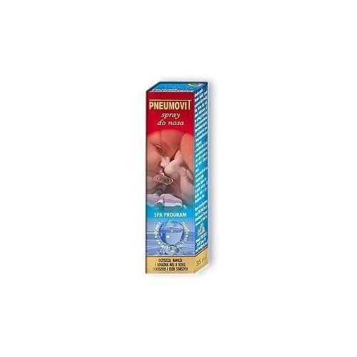 Preparaty do nosa, PNEUMOVIT Spray do nosa 35 ml (oczyszcza, nawilża i udrażnia nos)