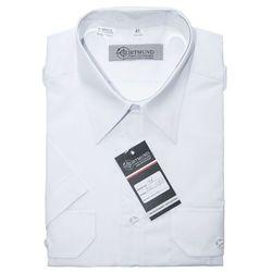 Koszula biała Policji - krótki rękaw