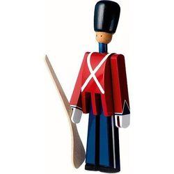 Dekoracja drewniana żołnierzyk kay bojesen ze strzelbą