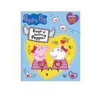 Książki dla dzieci, Peppa Pig. Kocha, lubi, szanuje. Kogo kocha Peppa? (opr. broszurowa)