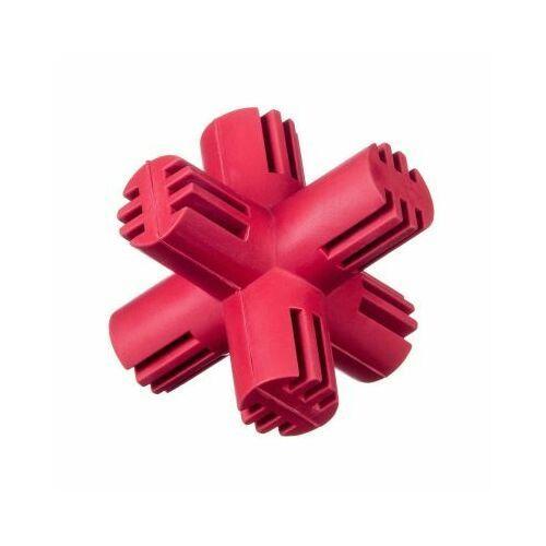 Grzechotki i gryzaki, Gryzak kauczukowy krzyż - red