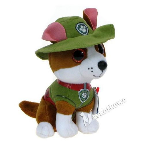 Pluszaki bajkowe, Psi Patrol -TY- maskotka z błyszczącymi oczami - Tracker