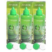 Płyny pielęgnacyjne do soczewek, Alvera Solution 3 x 350 ml