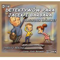 Książki dla młodzieży, Detektywów para, Jacek i Barbara. Naszyjnik królowej [Rekosz Dariusz] (opr. kartonowa)
