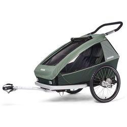 Croozer Kid Vaaya 2 Przyczepka dziecięca, jungle green 2020 Przyczepki rowerowe dla dzieci