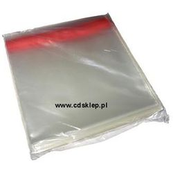 Koperty foliowe na CD 155mm 50 mikron 100szt.