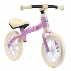 Rowerek biegowy 10 eva BIKESTAR obracana rama 2w1 lekki 3kg różowy