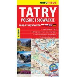 Tatry Polskie I Słowackie 1:55 000 Papierowa Mapa Turystyczna (opr. miękka)