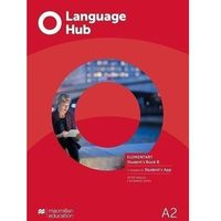 Książki do nauki języka, Language hub split ed. elementary a2 sb b + app - peter maggs, catherine smith