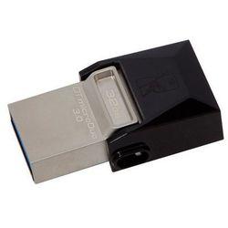 Kingston DataTraveler microDuo 32 GB, USB 3.0, microUSB, Metal/Black