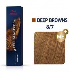 Wella Koleston Perfect ME+ 60ml Deep Browns 8/7