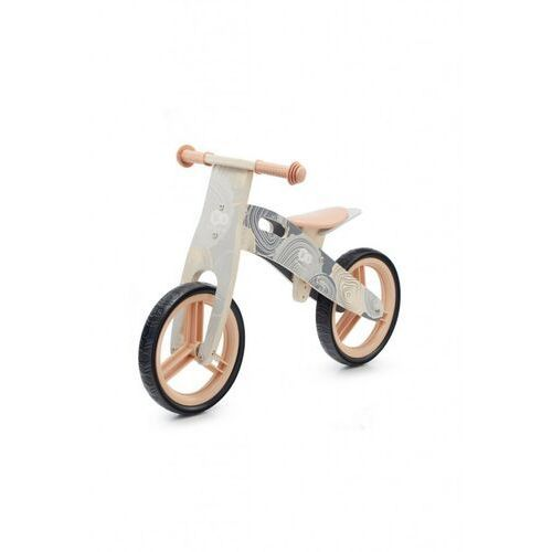 Rowerki biegowe, Rowerek biegowy szary Kinderkraft 5Y40AY