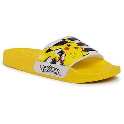 Klapki adidas - Adilette Shower K FW7430 Eqt Yellow/Core Black/Cloud white