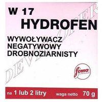 Chemia fotograficzna, FOMA wywoływacz W 17 Hydrofen-1 l