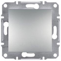Asforea zaślepka Schneider podtynkowa bez ramki aluminium EPH5600161