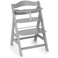 Krzesełka do karmienia, hauck Krzesełko do karmienia Alpha Plus B grey