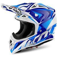 Kaski motocyklowe, KASK AIROH AVIATOR 2.2 FLASH BLUE GLOSS