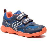 Półbuty i trzewiki dziecięce, Sneakersy GEOX - J Munfrey B. A J844BA 0BU11 C0820 S Navy/Orange
