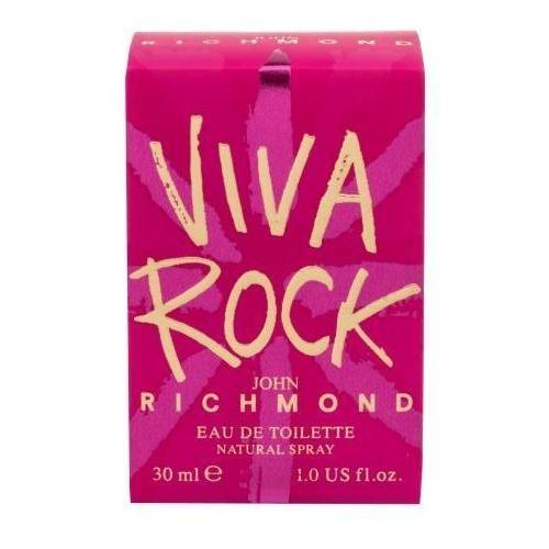 Wody toaletowe damskie, John Richmond VIVA ROCK Woman 30ml EdT